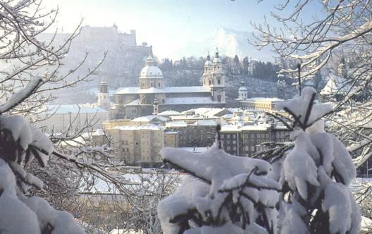 The magic of Salzburg also led to a wedding of a faculty member, ...